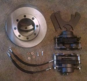 Dana 70 Disc Brake Conversion Kit