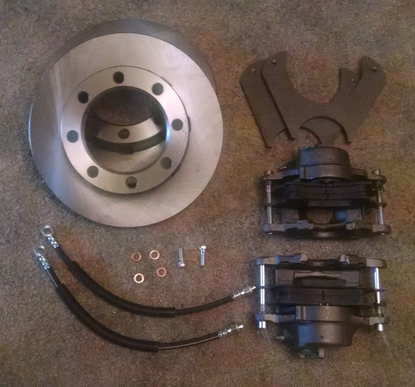 Dana 80 Dually Drw Disc Brake Conversion Kit Lugnut4x4