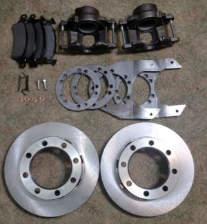 Ford 8 Lug Dana 44 Disc Brake Kit