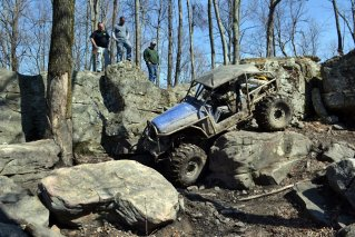 Off Roading With Ford Dana