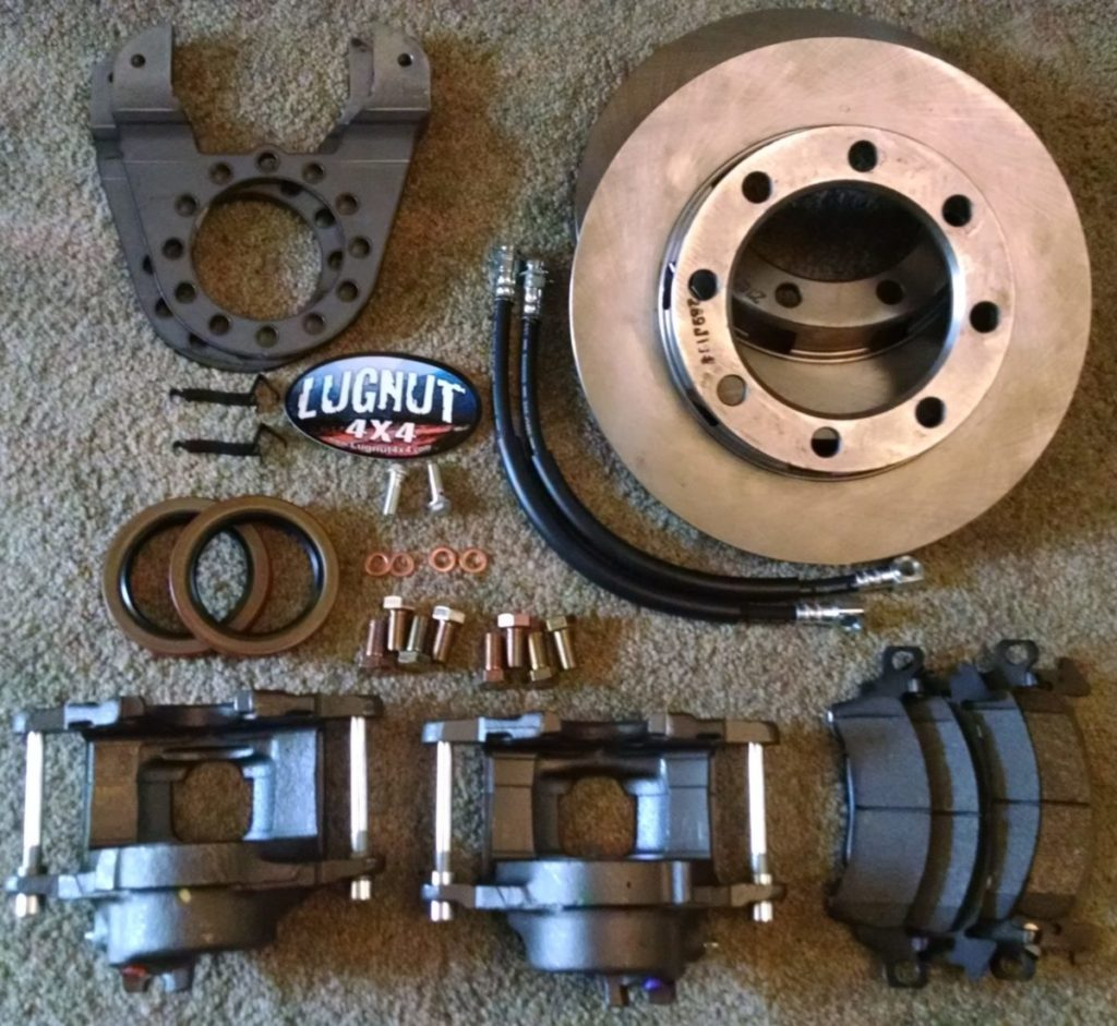 Older 14 Bolt Full Float Disc Brake Conversion Kit - Stud Mounted Drums