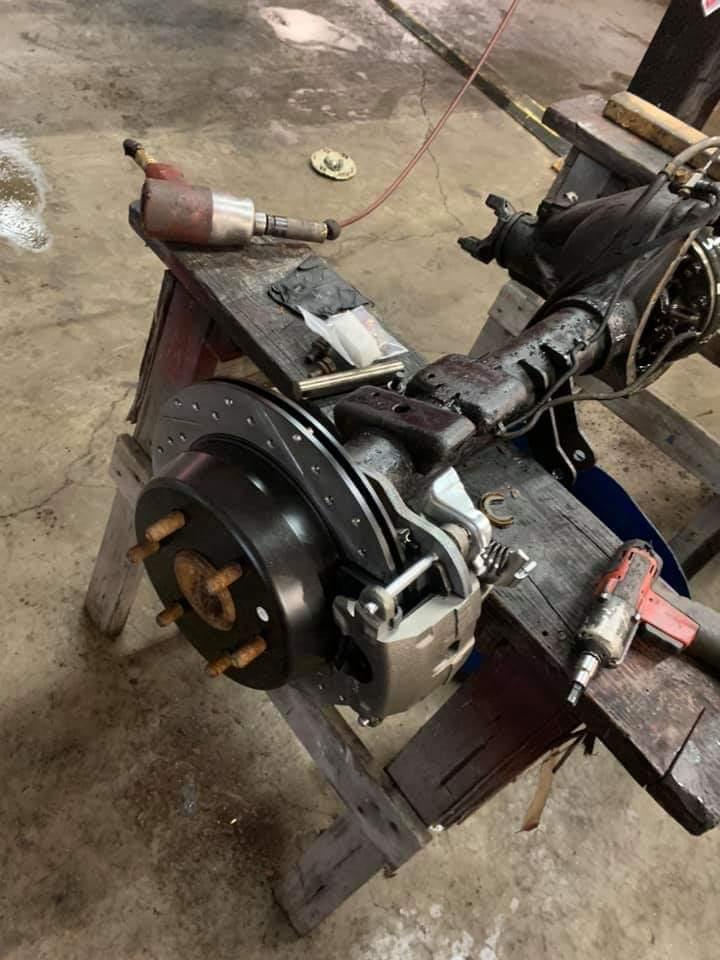 6 Lug Semi Float 14 Bolt Axle Disc Brake Conversion Kit Lugnut4x4