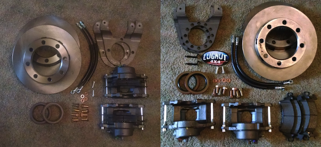 The 3 Most Common Disc Brake Conversion Issues | Lugnut4x4