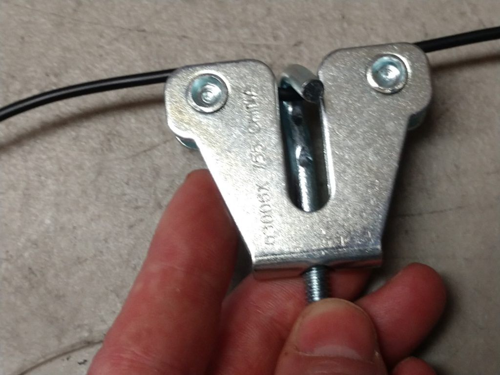 Parking brake cable adjuster