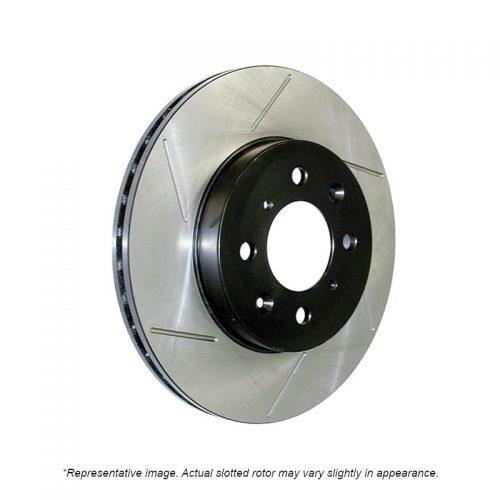 Slotted HD Truck Brake Rotors