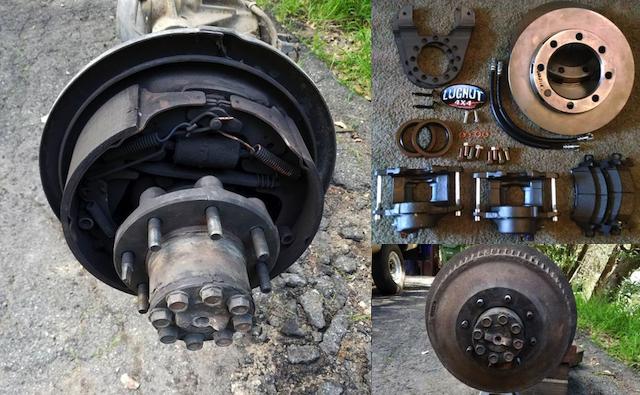 New brake kit