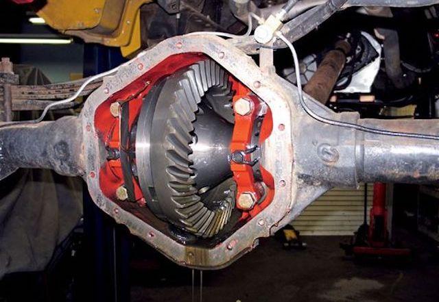 14 bolt axle